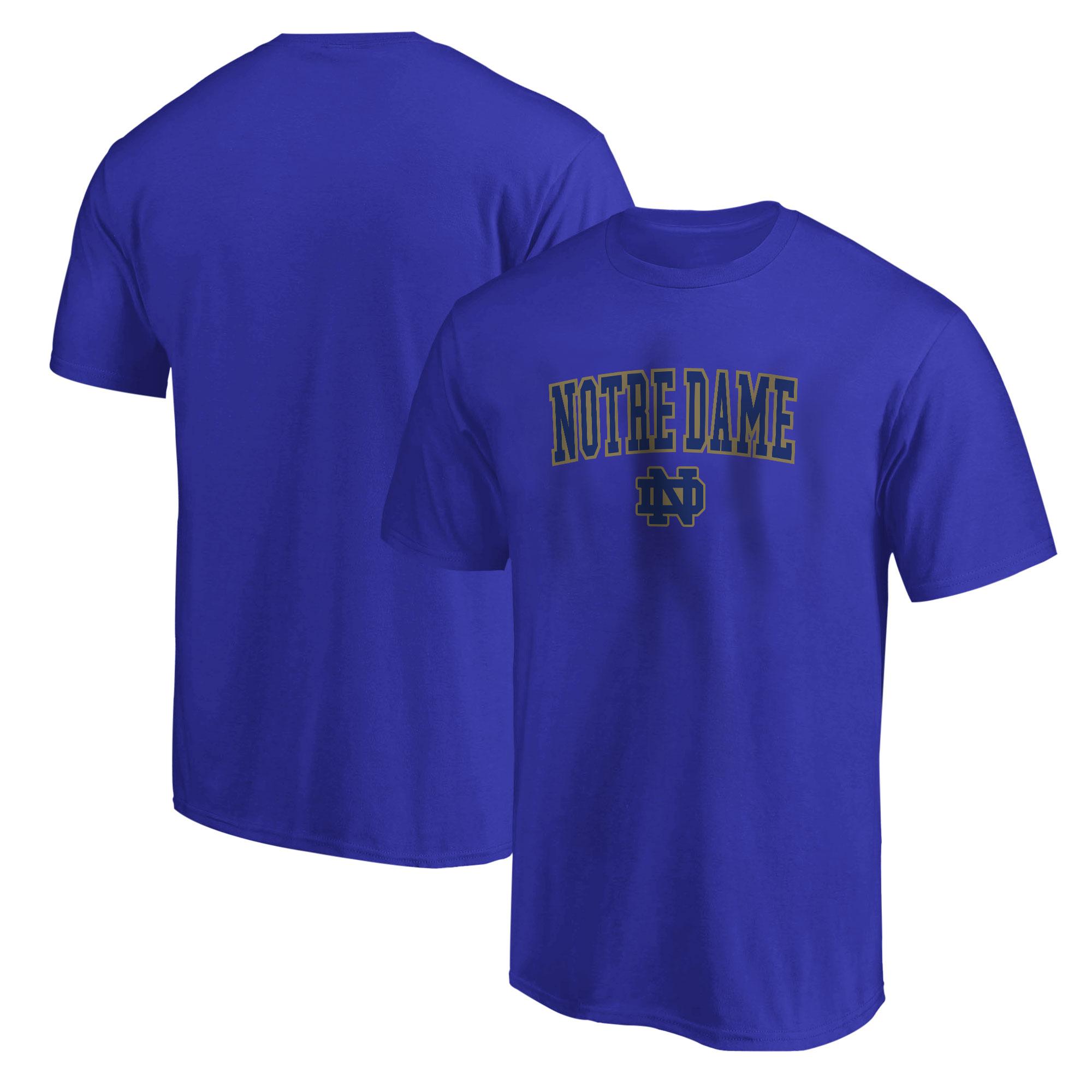 Notredame Tshirt (TSH-GRY-234-NCAA-NOTRE-LOGO)