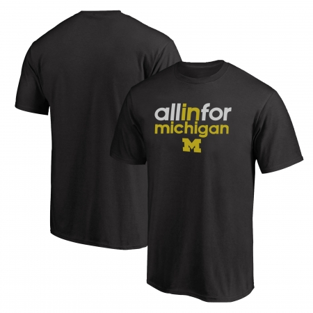 Michigan Tshirt (TSH-BLU-236-NCAA-MICH-ALL.IN)
