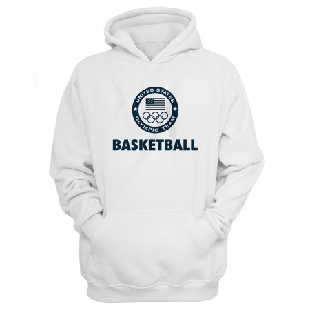 Olympic Team USA Basketball New Olympic Hoodie (HD-GRY-239-NBA-USA-OLYMPIC)
