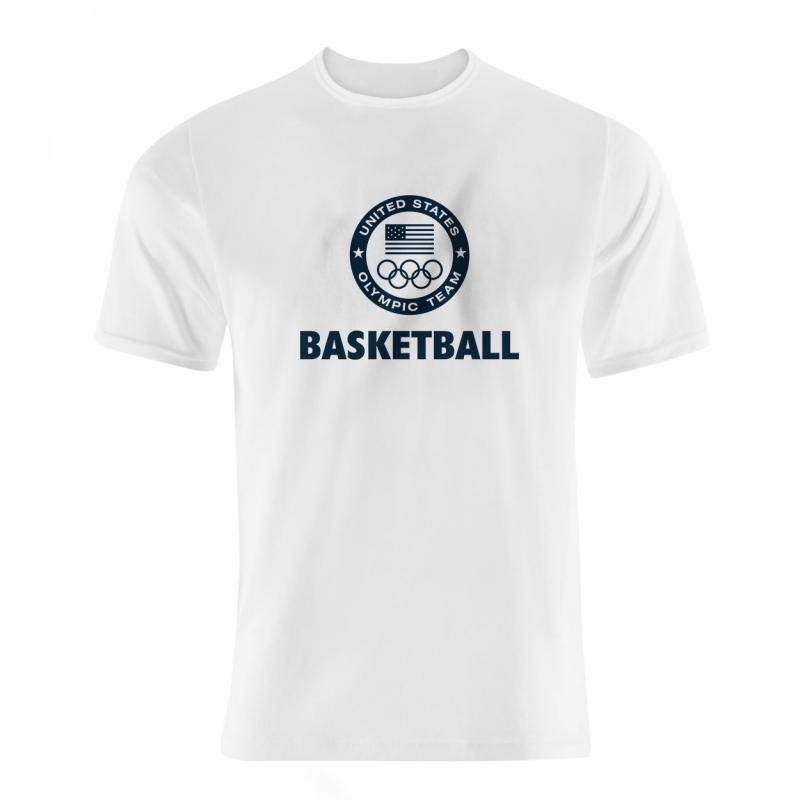 Olympic Team U.S.A. United States Tshirt (TSH-GRY-239-NBA-USA-OLYMPIC)