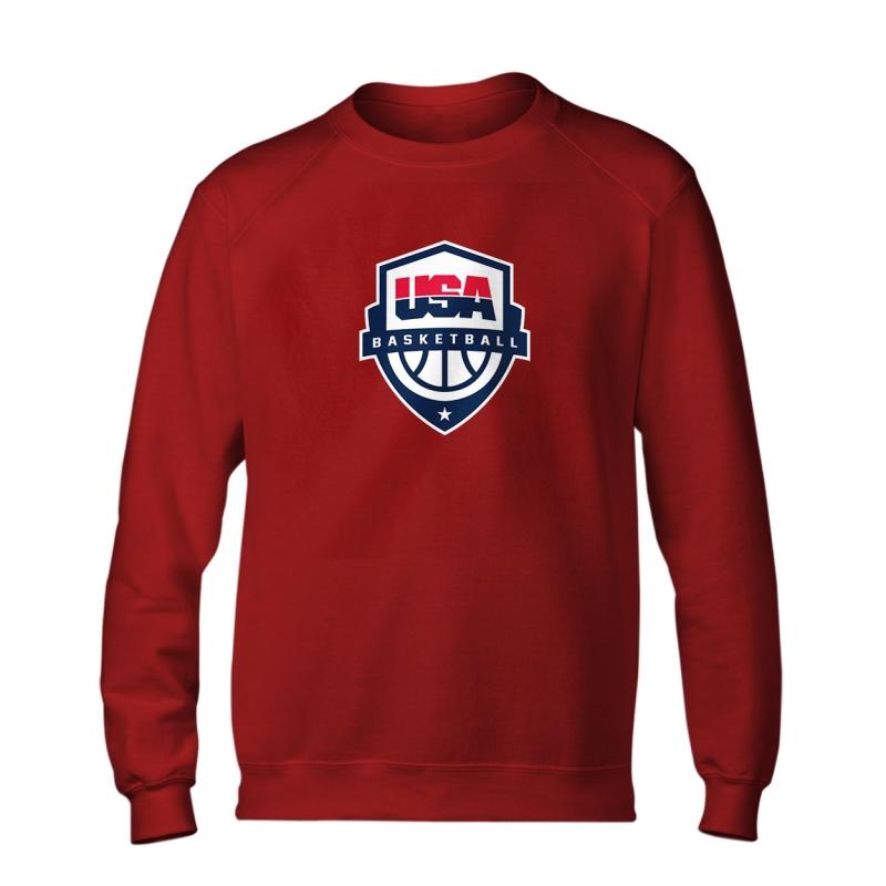 Olympic Team USA Basketball New Logo Basic (BSC-BLU-241-NBA-USA-LOGO)