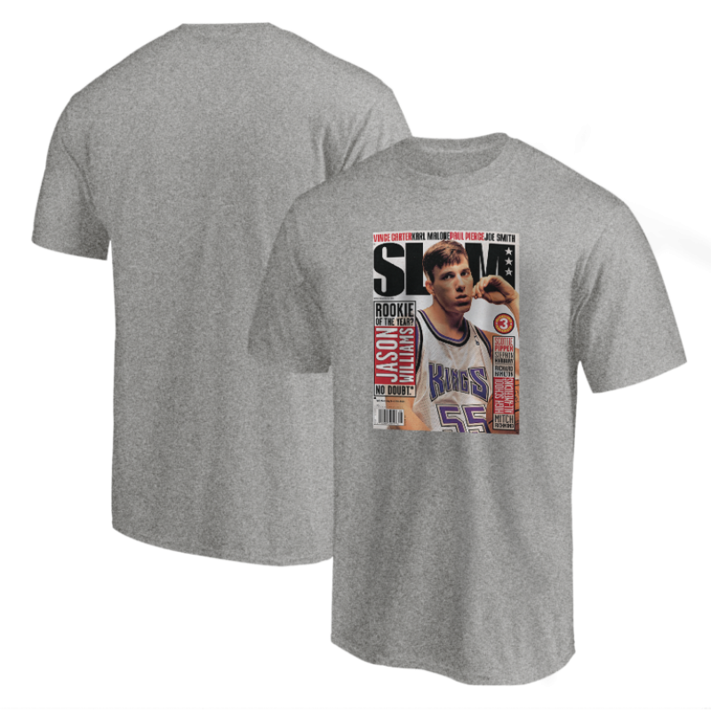 Jason Williams Slam Tshirt (TSH-BLC-243-PLYR-SLAM-WILLIAMS)