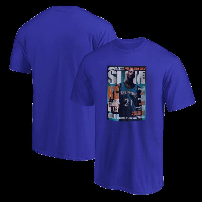 Kevin Garnett Slam Tshirt (TSH-BLC-244-PLYR-SLAM-GARNETT)