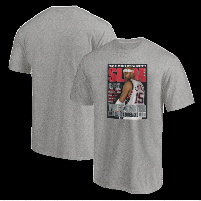 Vince Carter Slam Tshirt (TSH-BLC-247-PLYR-SLAM-CARTER)