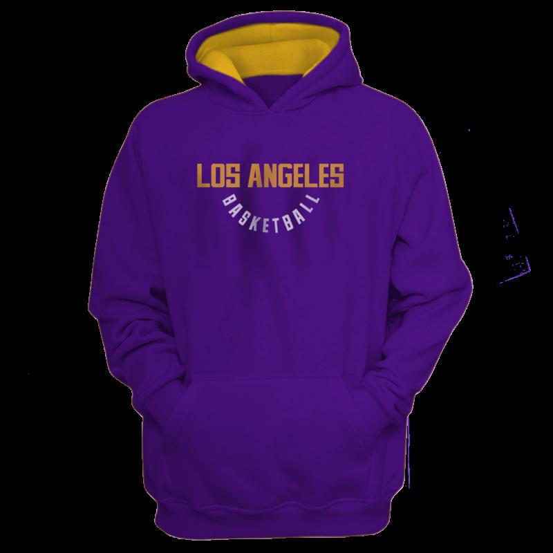 L.A. Lakers Los Angeles Hoodie (HD-BLC-267-NBA-LAL-WARM.UP)