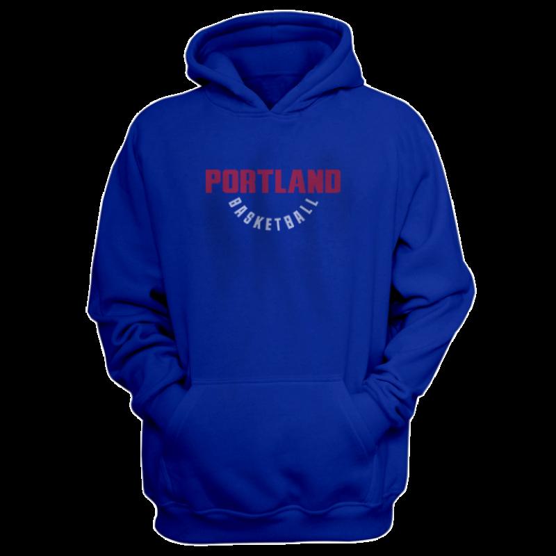 Portland Trail Blazers Portland Hoodie (HD-BLC-278-NBA-POR-WARM.UP)