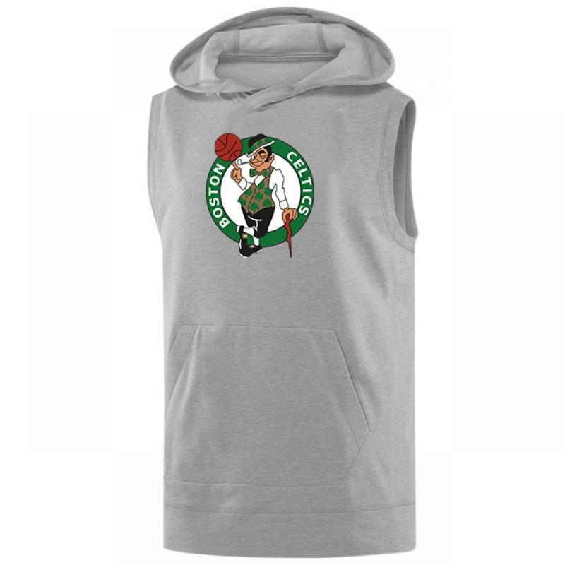 Boston Celtics Logo Sleeveless (KLS-WHT-NP-28-NBA-BSTN-LOGO)