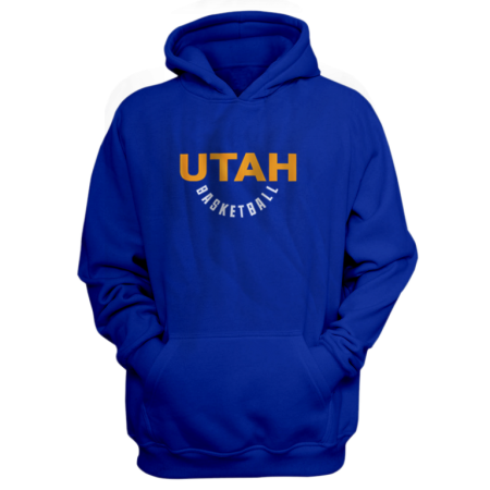 Utah Jazz Utah Hoodie (HD-BLC-282-NBA-UTH-WARM.UP)