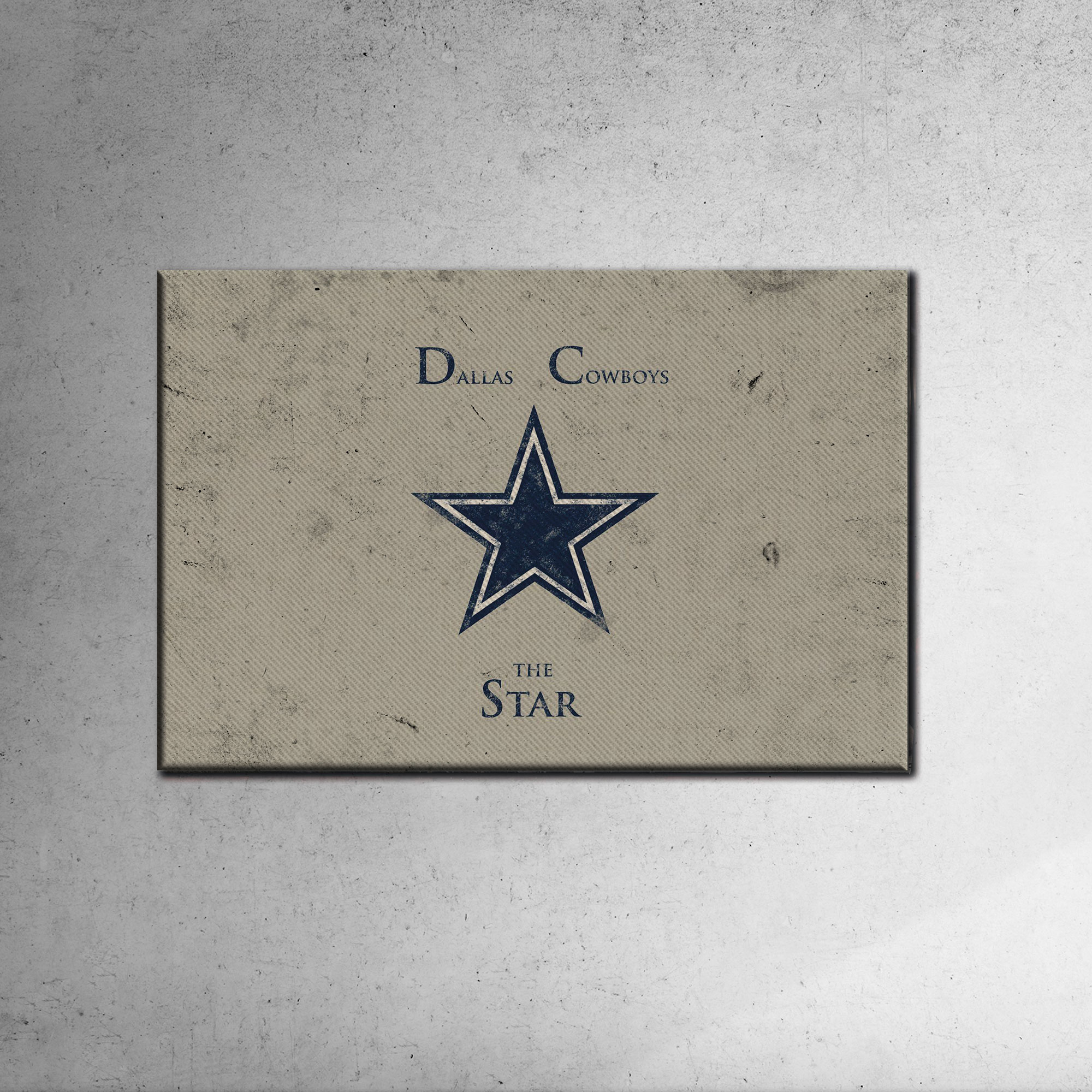 Dallas Cowboys Canvas Tablo (Nba-canvas-dallas)