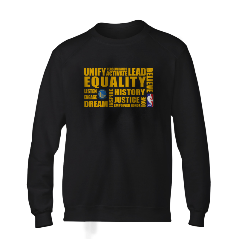 EQUALITY  Golden State Warriors Basic (BSC-BLU-290-NBA-GSW.yllw)