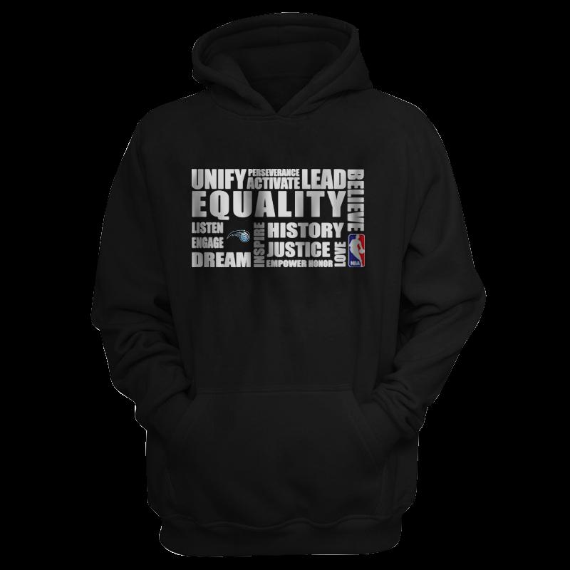 EQUALITY Orlando Magic  Hoodie (HD-BLU-291-NBA.ORL.byz.)