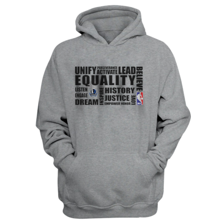 EQUALITY Dallas Mavericks  Hoodie (HD-WHT-292-NBA-DAL.syh.)