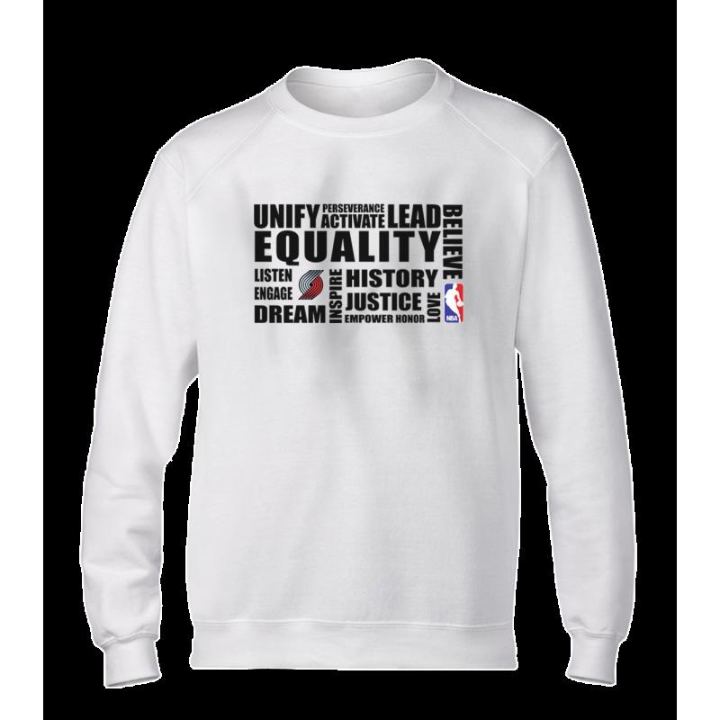 EQUALITY Portland Trail Blazers Basic (BSC-GRY-NP-292-NBA.POR.syh)