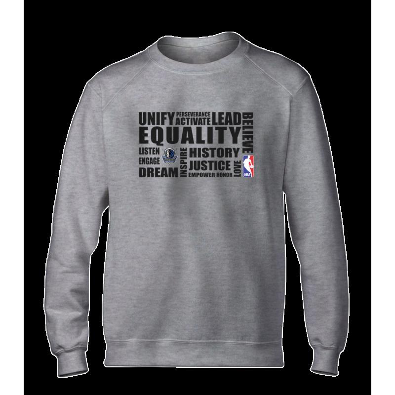 EQUALITY Dallas Mavericks  Basic (BSC-WHT-NP-292-NBA-DAL.syh.)