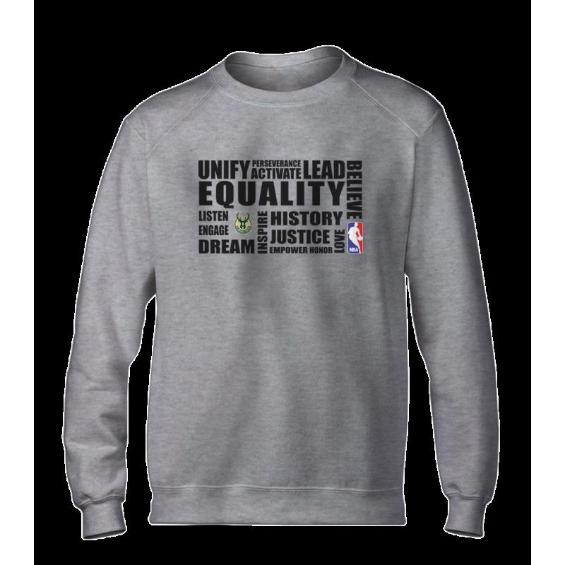 EQUALITY Milwaukee Bucks Basic (BSC-WHT-NP-292-NBA.MIL.syh)