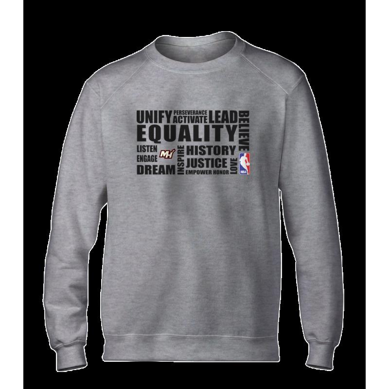 EQUALITY Miami Heat Basic (BSC-WHT-NP-292-NBA.MİA.syh)