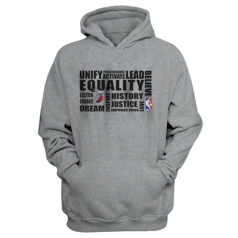 EQUALITY Portland Trail Blazers Hoodie (HD-RED-NP-292-NBA.POR.syh)