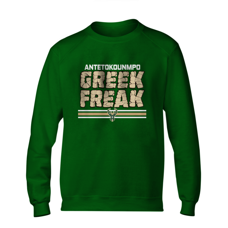 Milwaukee Greek Freak  BasicSweat  (BSC-BLC-288-PLYR-MIL-FREAK.GREEK)