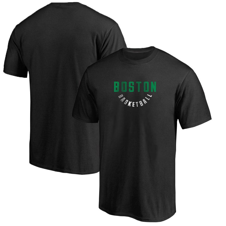 Boston Basketball Tshirt (TSH-BLC-NP-255-BOSTON-WARMUP)
