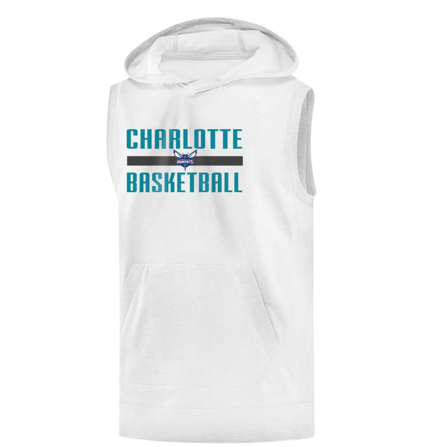 Charlotte Basketball Sleeveless (KLS-WHT-NP-charlotte-basketball-653)
