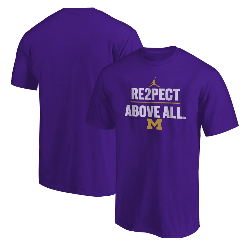 NCAA Re2pect Above All Tshirt (TSH-BLU-307-Above.All)