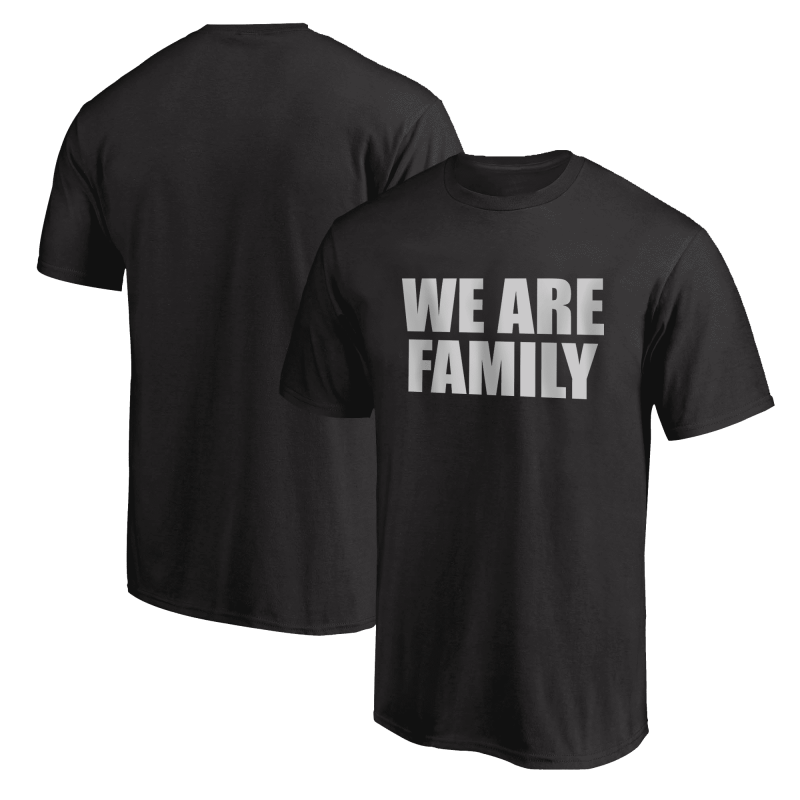 Nba Logo Gear We Are Family  Tshirt (TSH-BLU-308-wefamily-Byz)