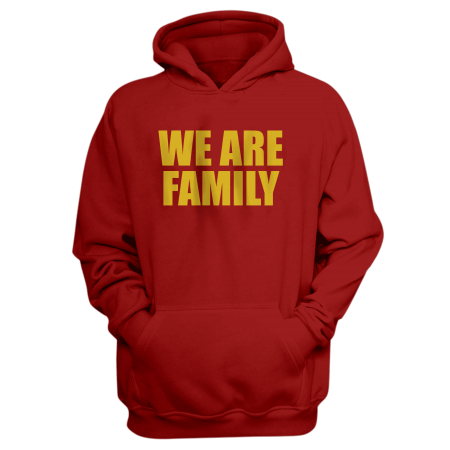 Nba Logo Gear We Are Family Hoodie (HD-BLU-309-wefamily-Sarı)