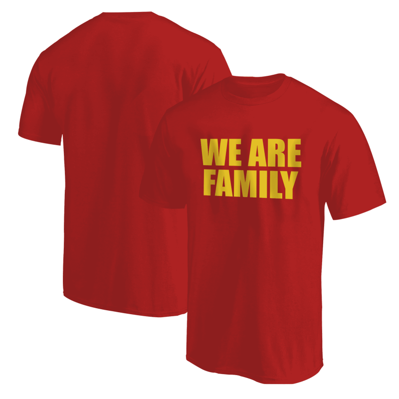 Nba Logo Gear We Are Family  Tshirt (TSH-BLC-309-wefamily-Sarı)