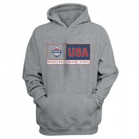 Olympic Team U.S.A Basketball Hoodie (HD-BLC-313-NBA-USABASKETBALL)