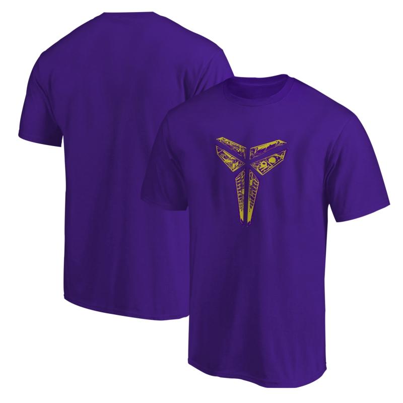 L.A. Lakers Kobe Bryant Tshirt (TSH-BLC-351-kobelogo2)