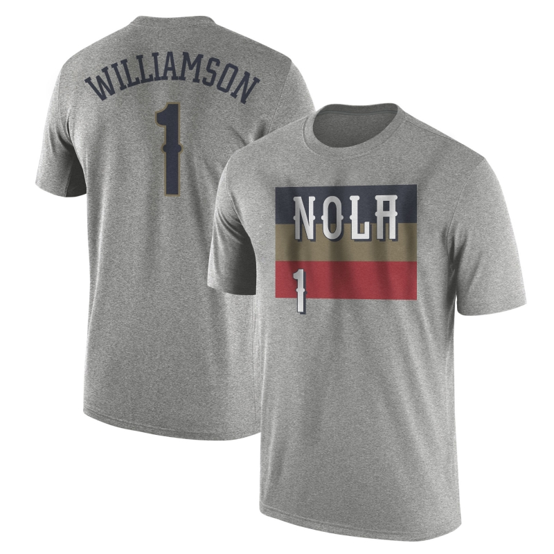 New Orleans Pelicans Zion Williamson Tshirt (TSH-WHT-364-PLYR-NOLA-ZİON.FRM)