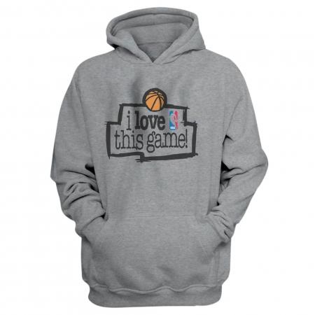 Nba Logo Gear I Love This Game Hoodie (HD-WHT-370-lovethis01)