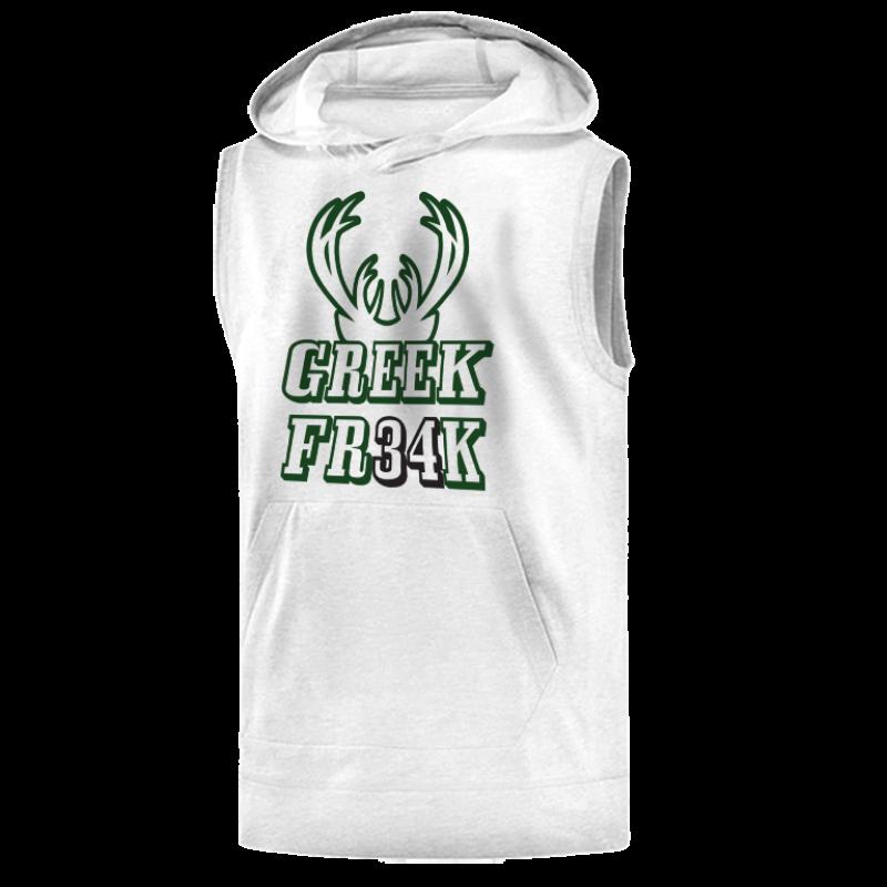 Milwaukee Bucks Milwaukee Greek Freak Sleeveless (KLS-GRY.373.greekfreak34)