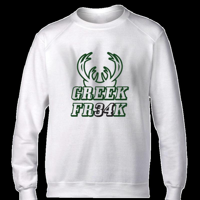 Milwaukee Bucks Milwaukee Greek Freak Basic (BSC-GRY.373.greekfreak34)