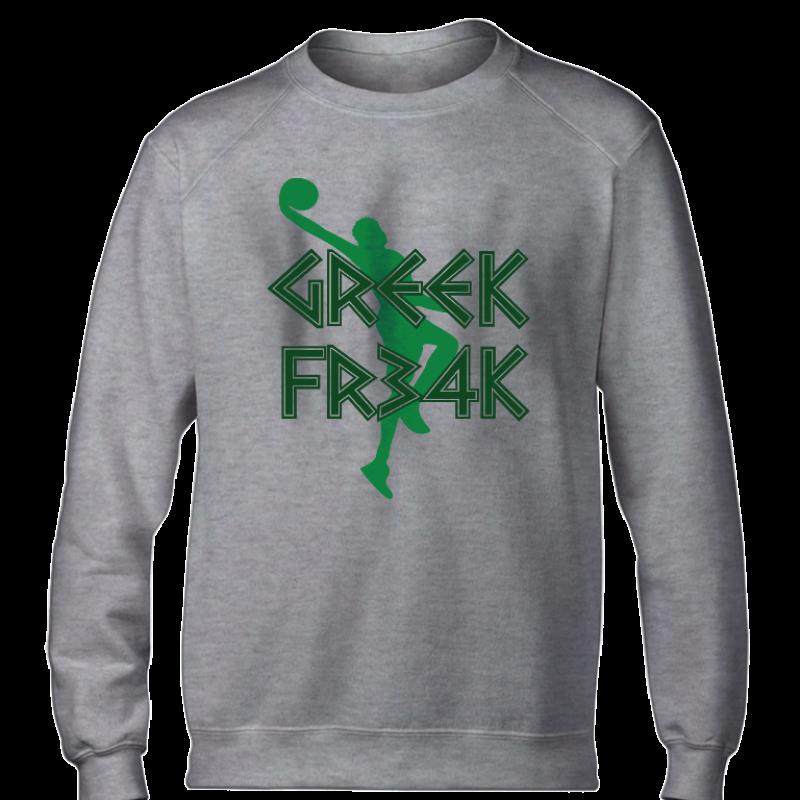 Milwaukee Bucks Milwaukee Greek Freak  Basic  (BSC-WHT-374-greekfreak01)