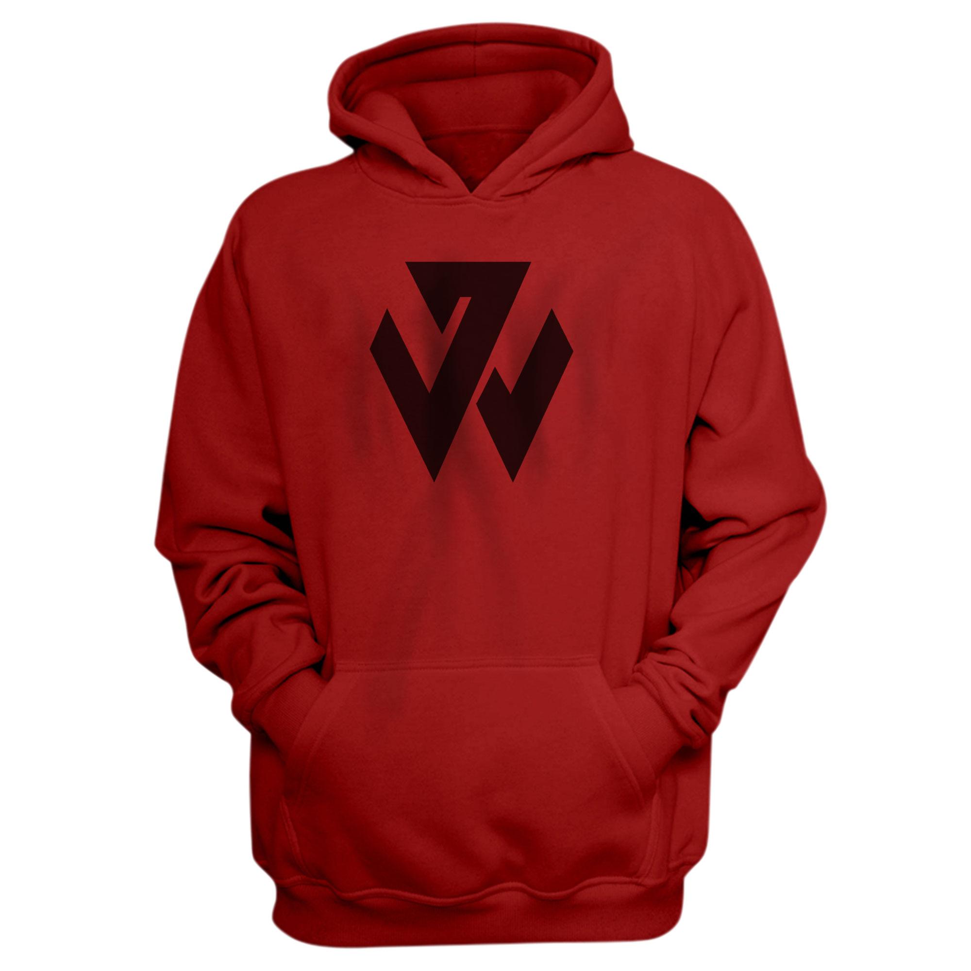 Washington Wizards John Wall Hoodie (HD-BLU-376-PLYR-WALL.LOGO)