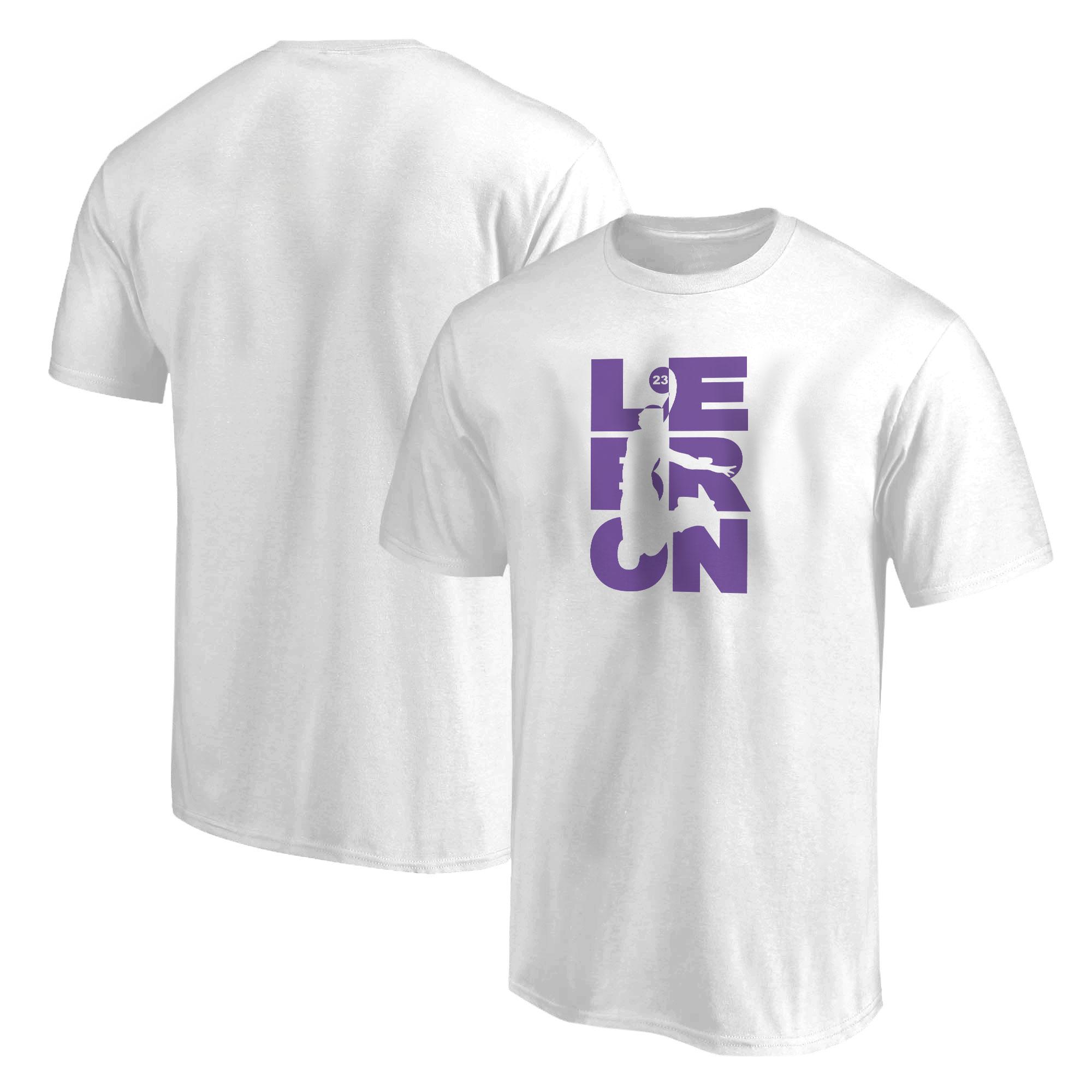 Lebron James Tshirt (out-TSH-WHT-381-LBRN-JAMES)