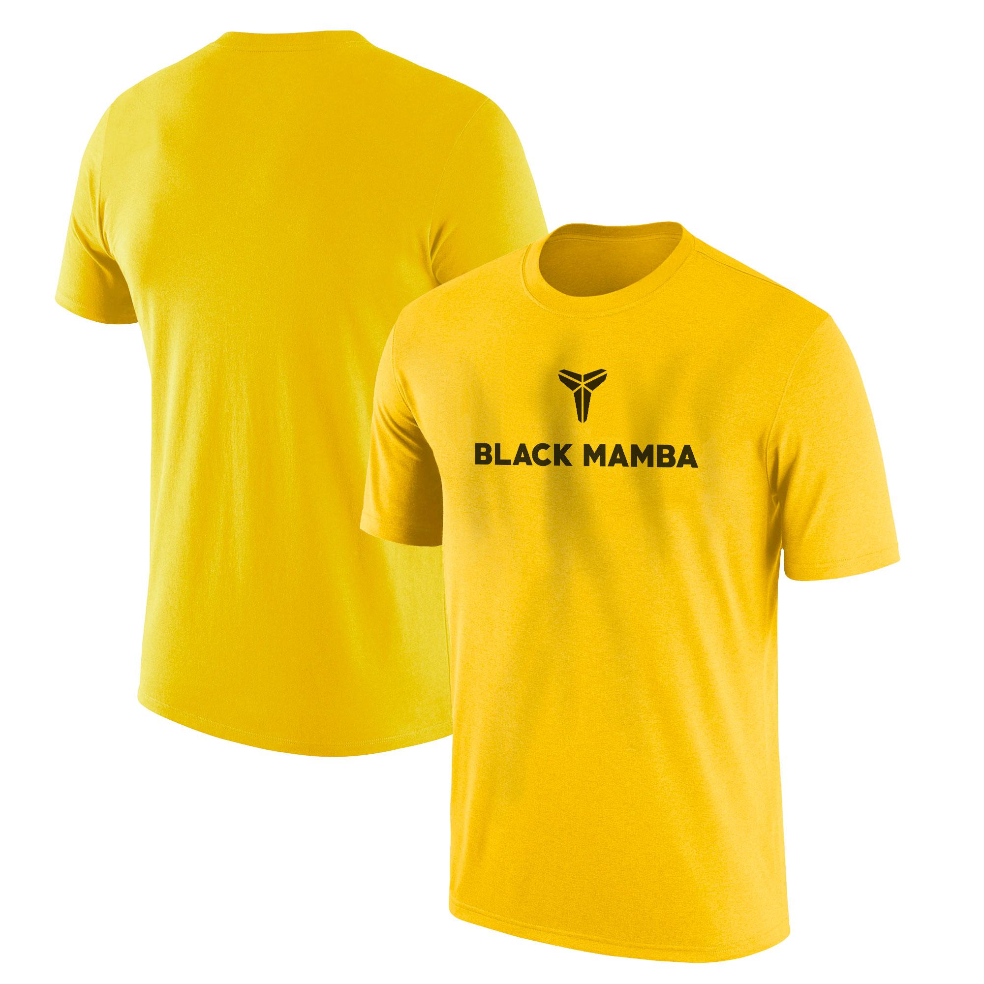 Kobe Bryant Tshirt (TSH-YLW-PLYR-NP-388-BLACK.MAMBA)