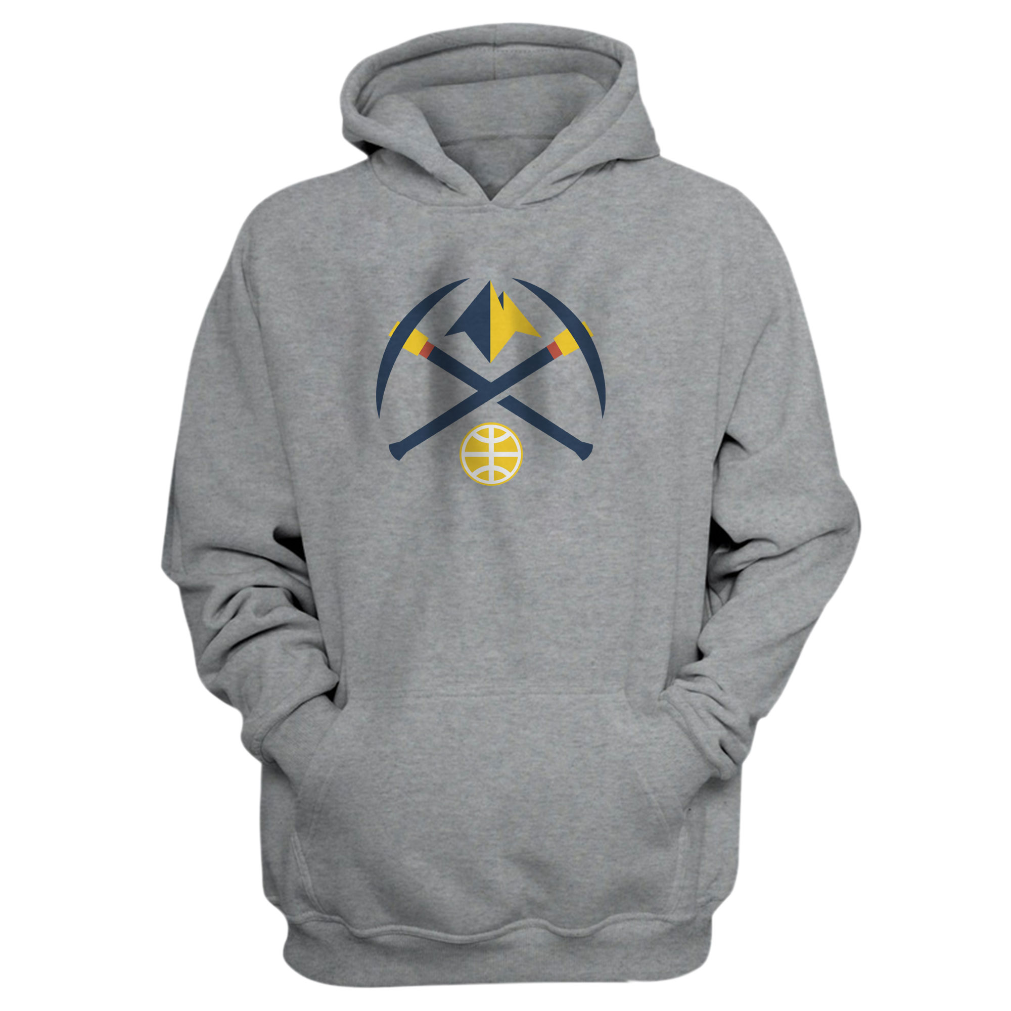 Denver Nuggets Hoodie (HD-YLW-402-NBA-DEN-NUGGETS)