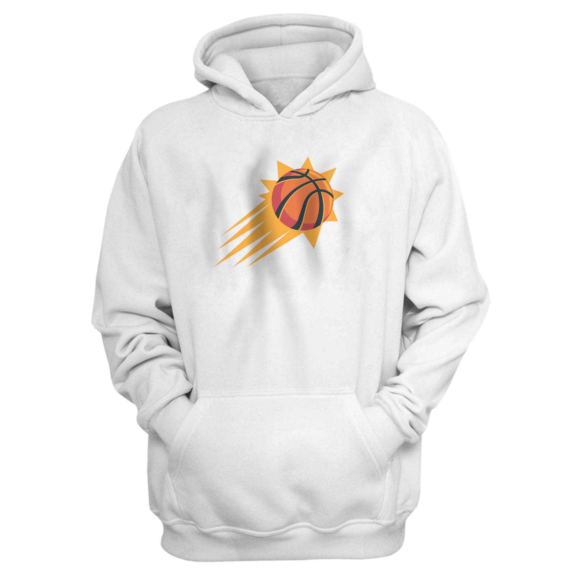 Phoenix Suns Hoodie (HD-WHT-NP-406-NBA-PHO-SUNS.NEW)