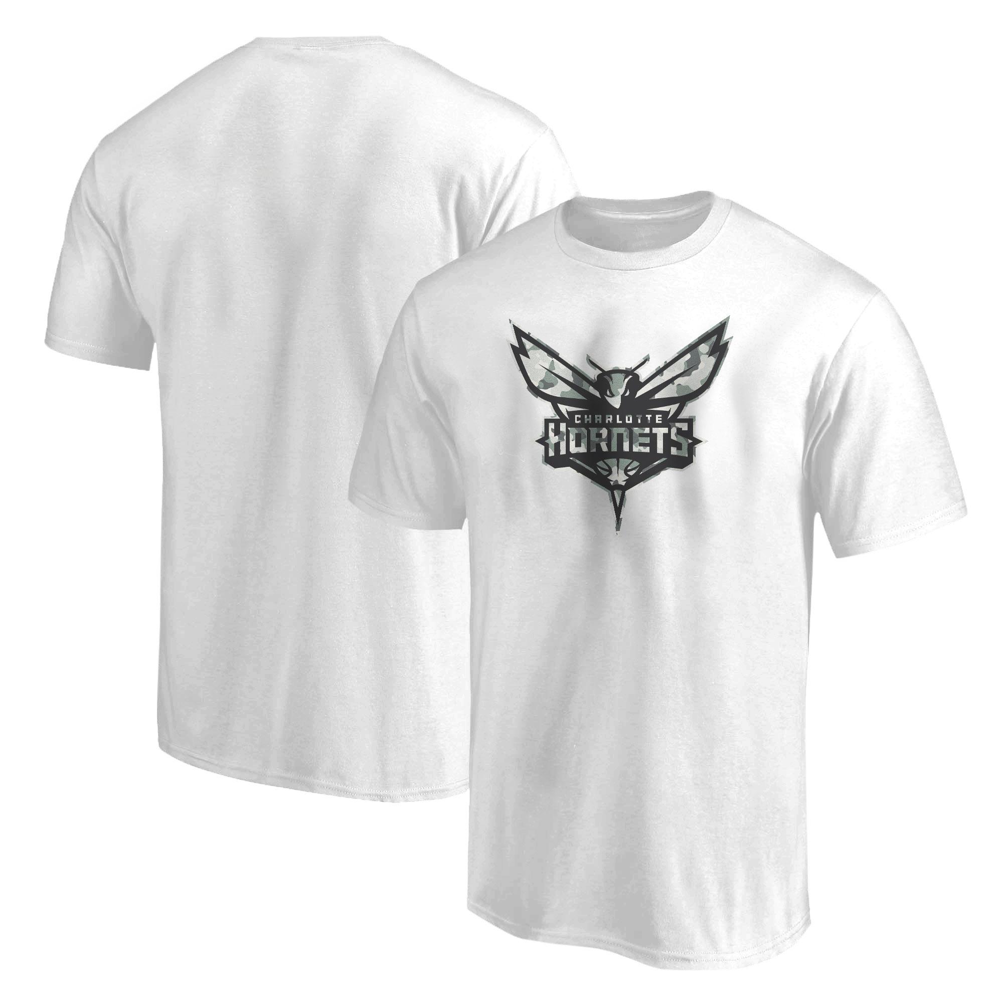 Charlotte Hornets Tshirt (TSH-BLC-407-NBA-CHRL-HRNT-NEW)