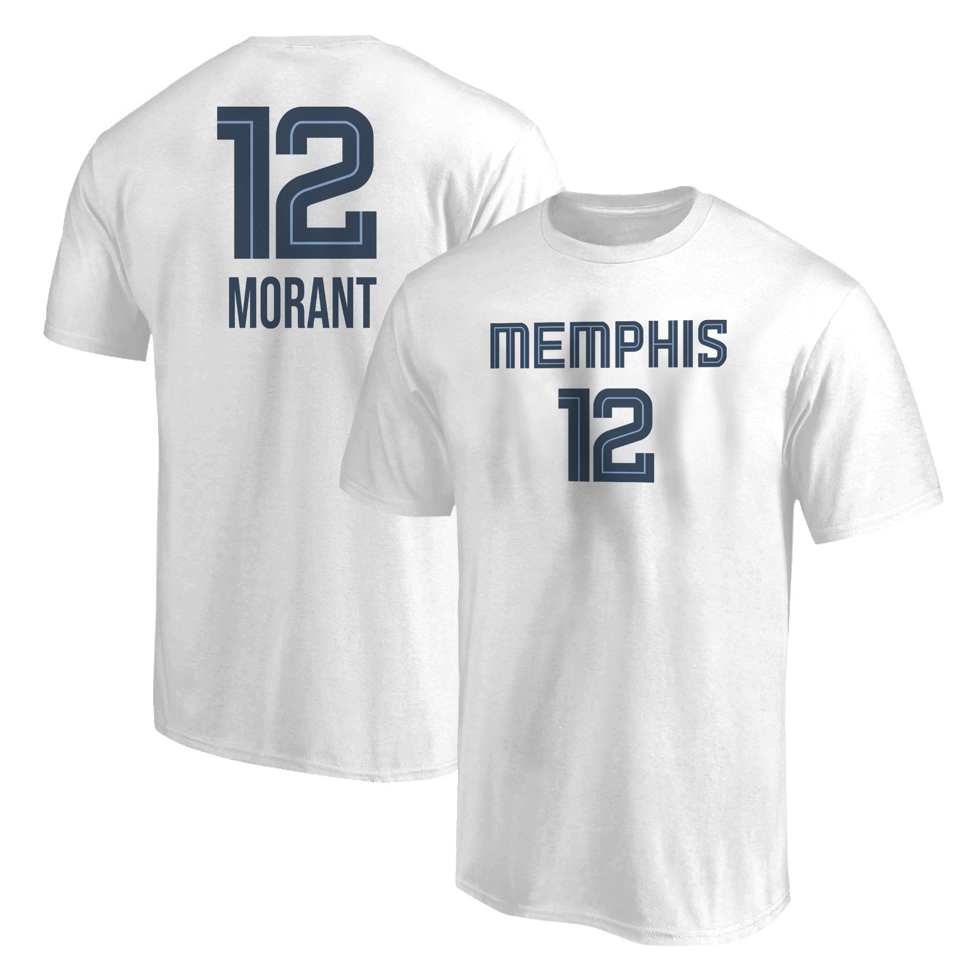 Ja Morant Tshirt (TSH-WHT-NP-414-JA-MORANT)