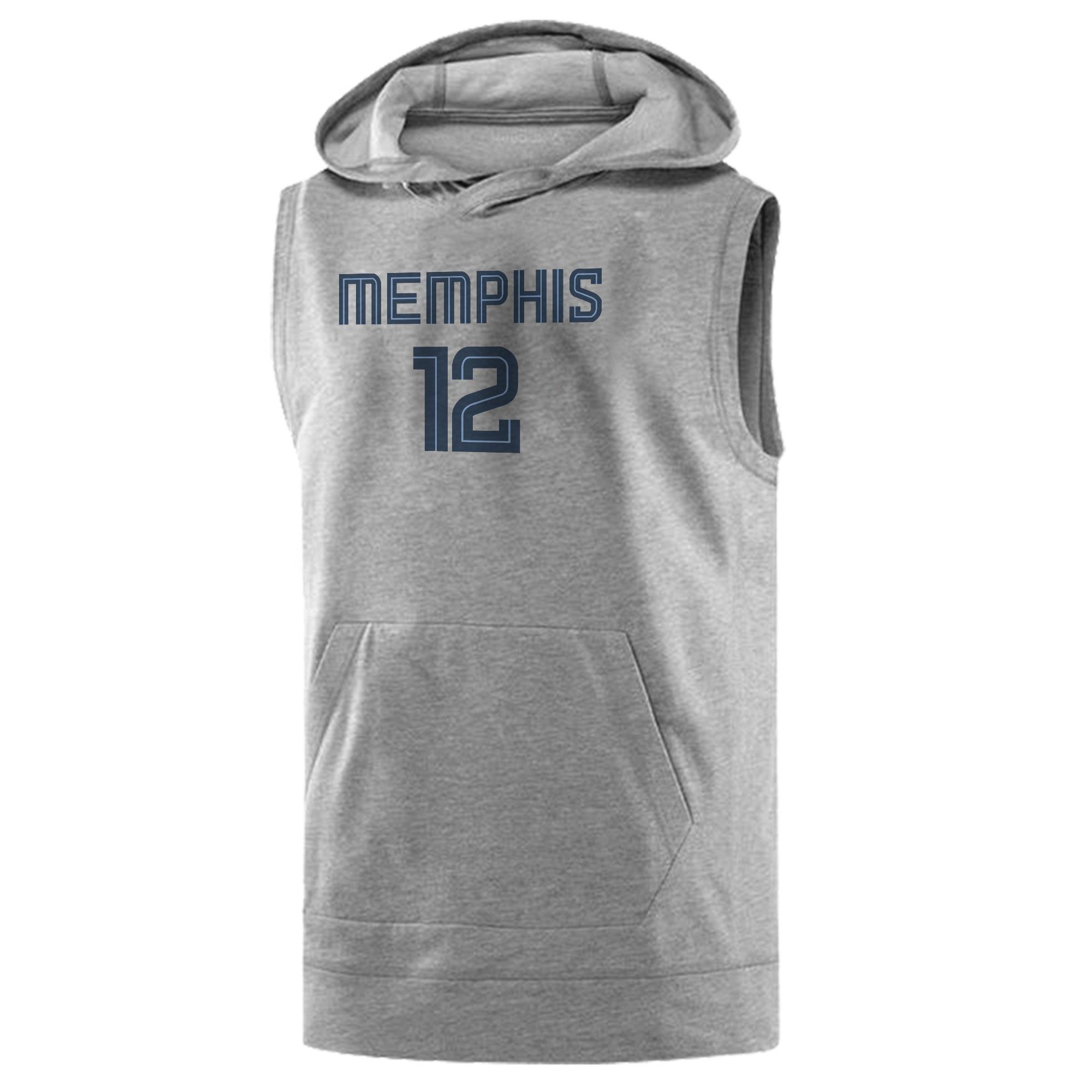 Memphis Grizzlies Ja Morant Sleeveless (KLS-WHT-414-JA-MORANT)