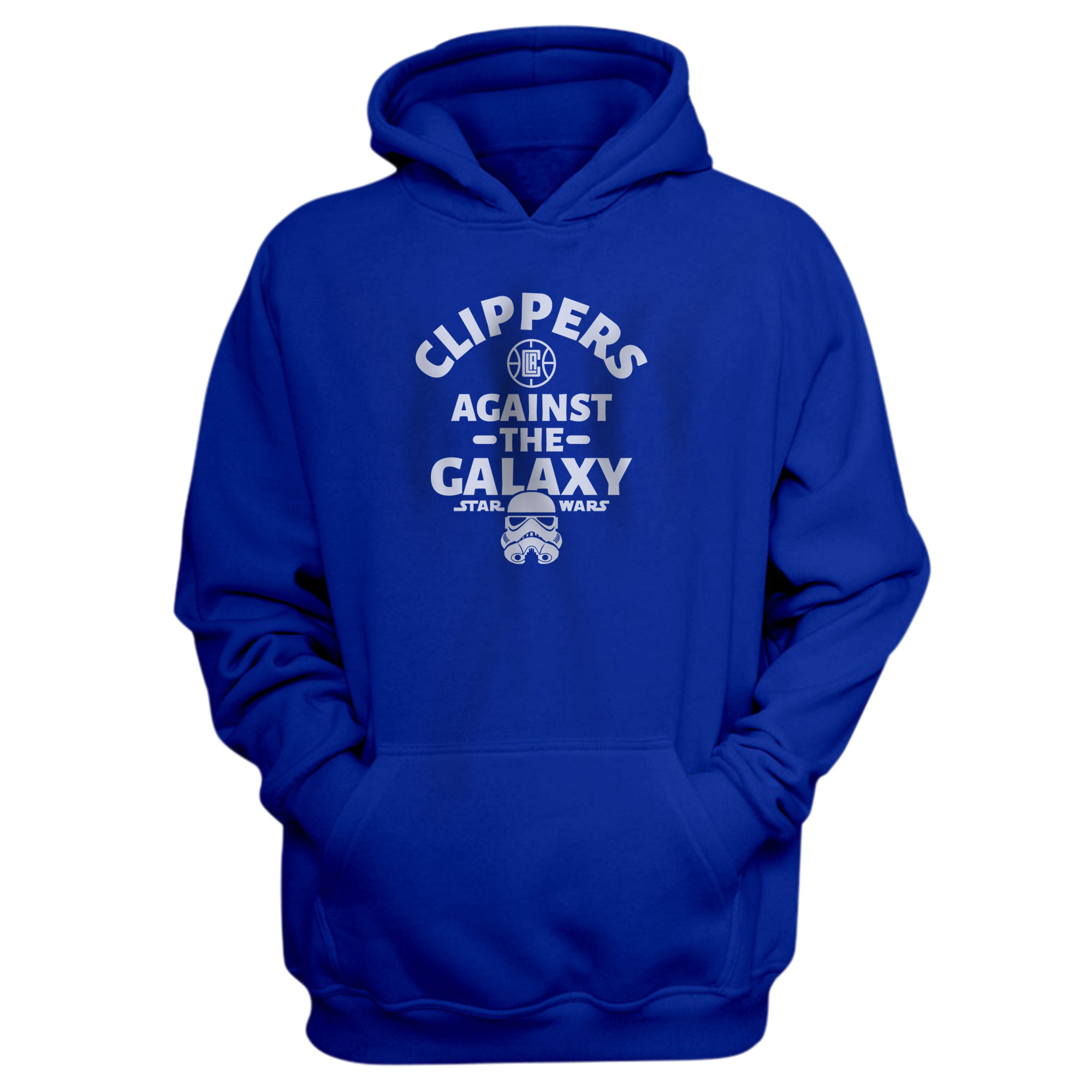 L.A. Clippers Clippers Galaxy Hoodie (HD-RED-425-CLIPPERS-GALAXY)