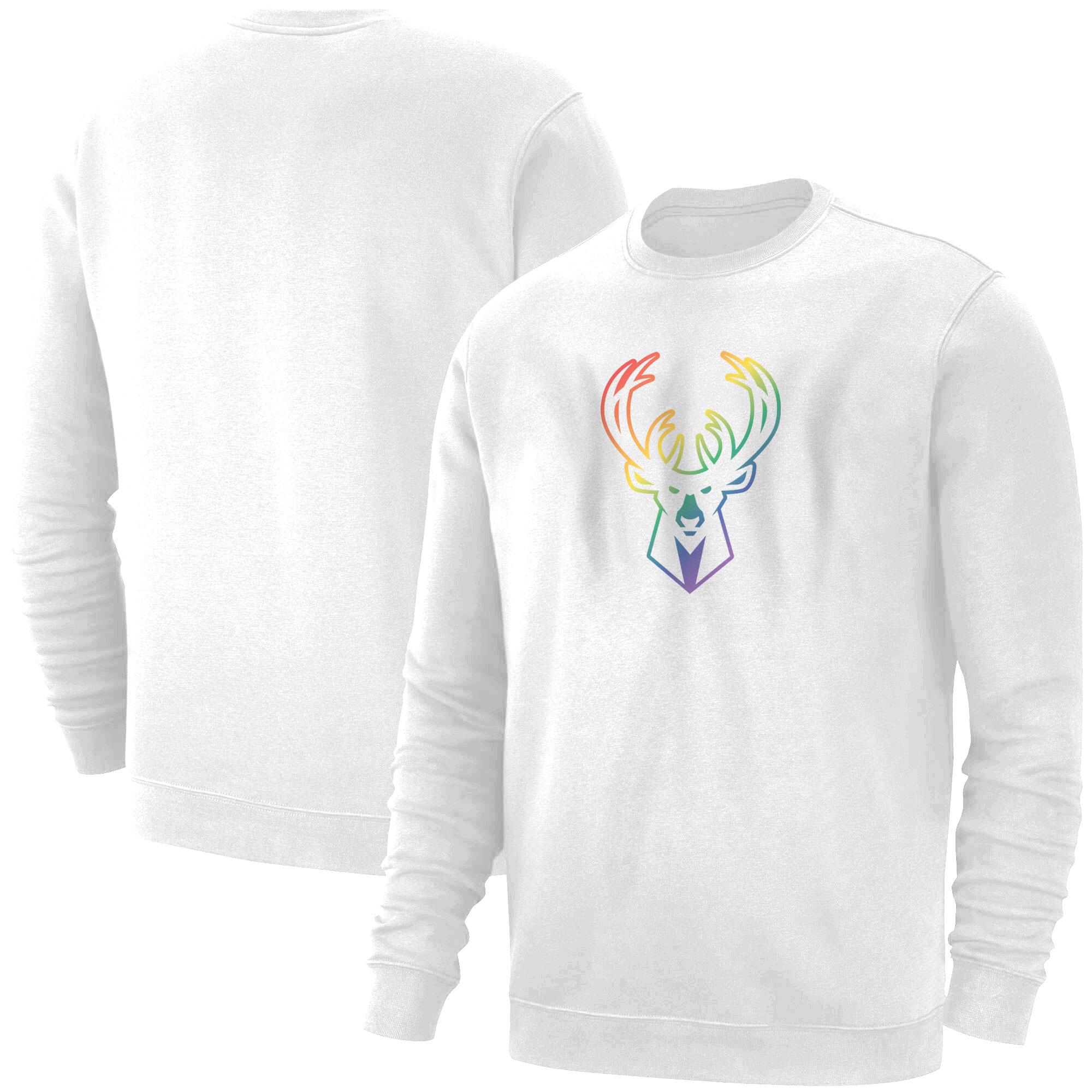 Milwaukee Rainbow Basic (BSC-WHT-NP-427-NBA-MIL-RAİNBOW)