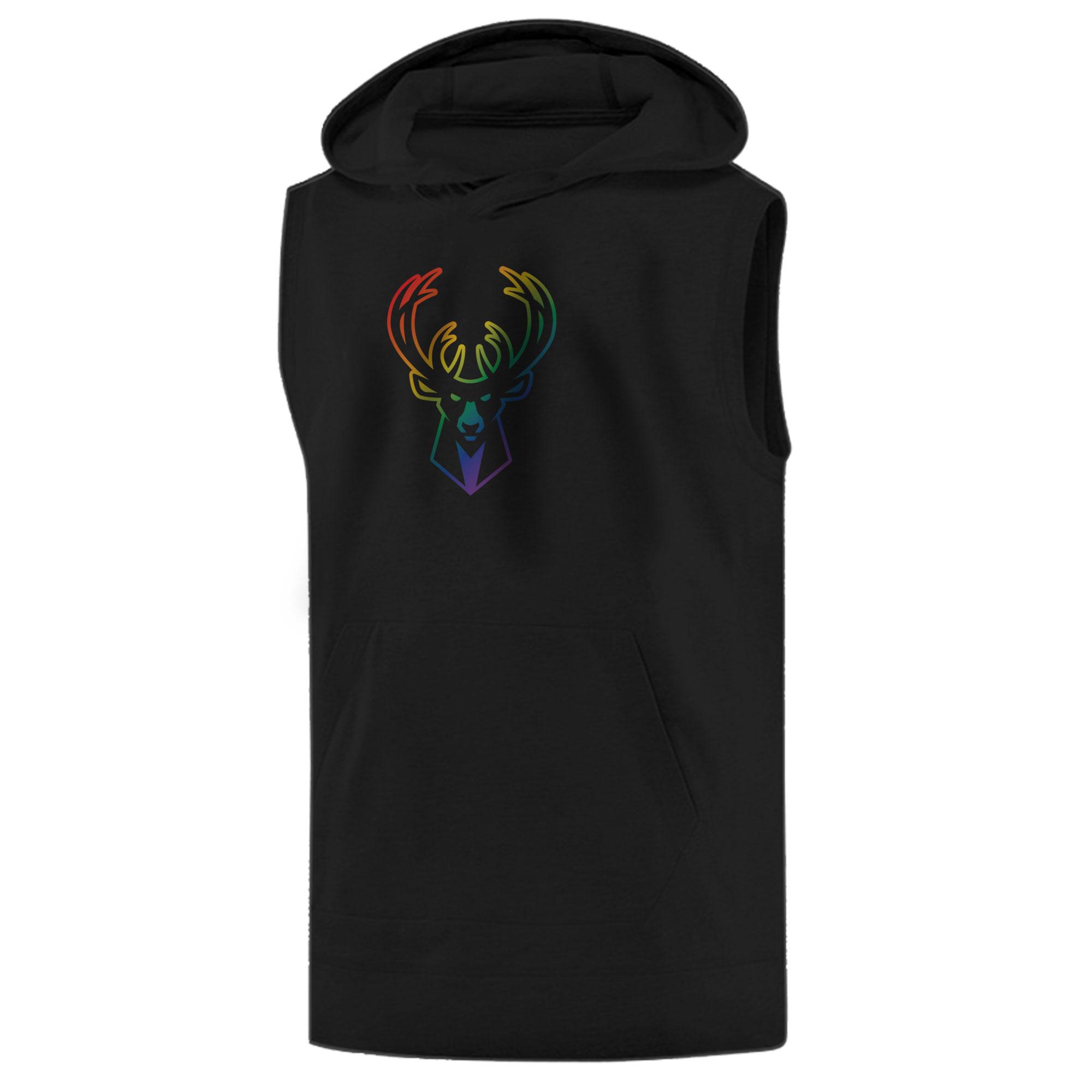 Milwaukee Rainbow Sleeveless (KLS-WHT-NP-427-NBA-MIL-RAİNBOW)