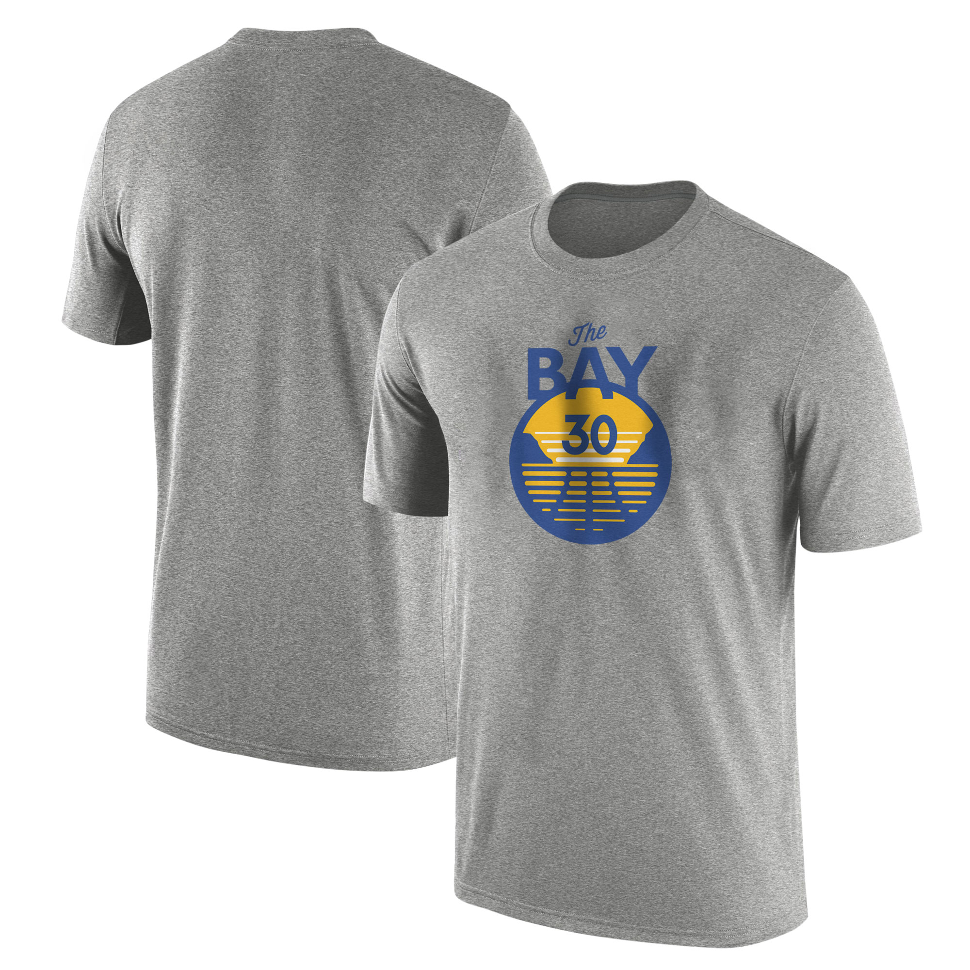 Golden State Warriors Curry The Bay Tshirt (TSH-YLW-437-THE-BAY)