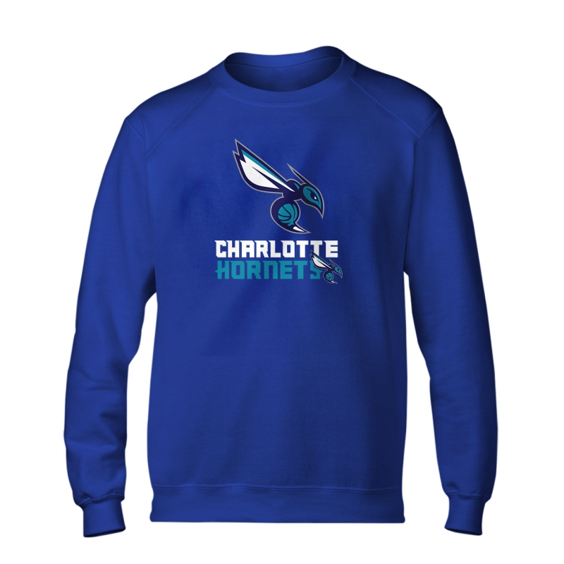 Charlotte Hornets Logo Basic (BSC-GRY-44-NBA-CHRL-HRNT)