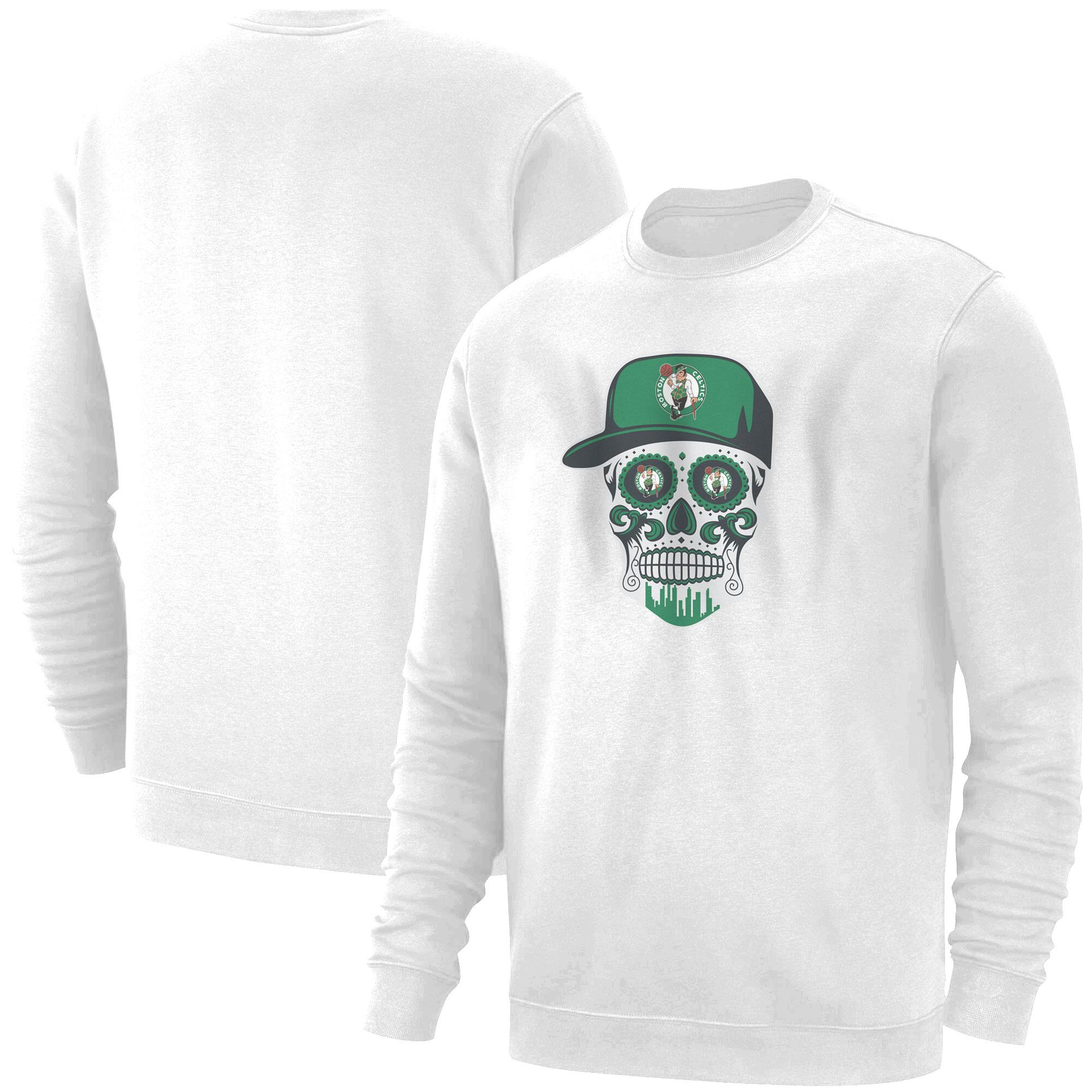 Celtics Skull  Basic (BSC-WHT-NP-448-NBA-BSTN-SKULL)