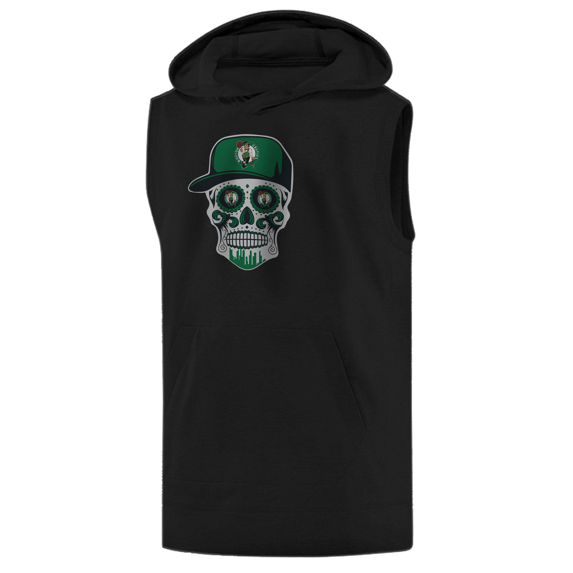 Celtics Skull  Sleeveless (KLS-BLC-NP-448-NBA-BSTN-SKULL)